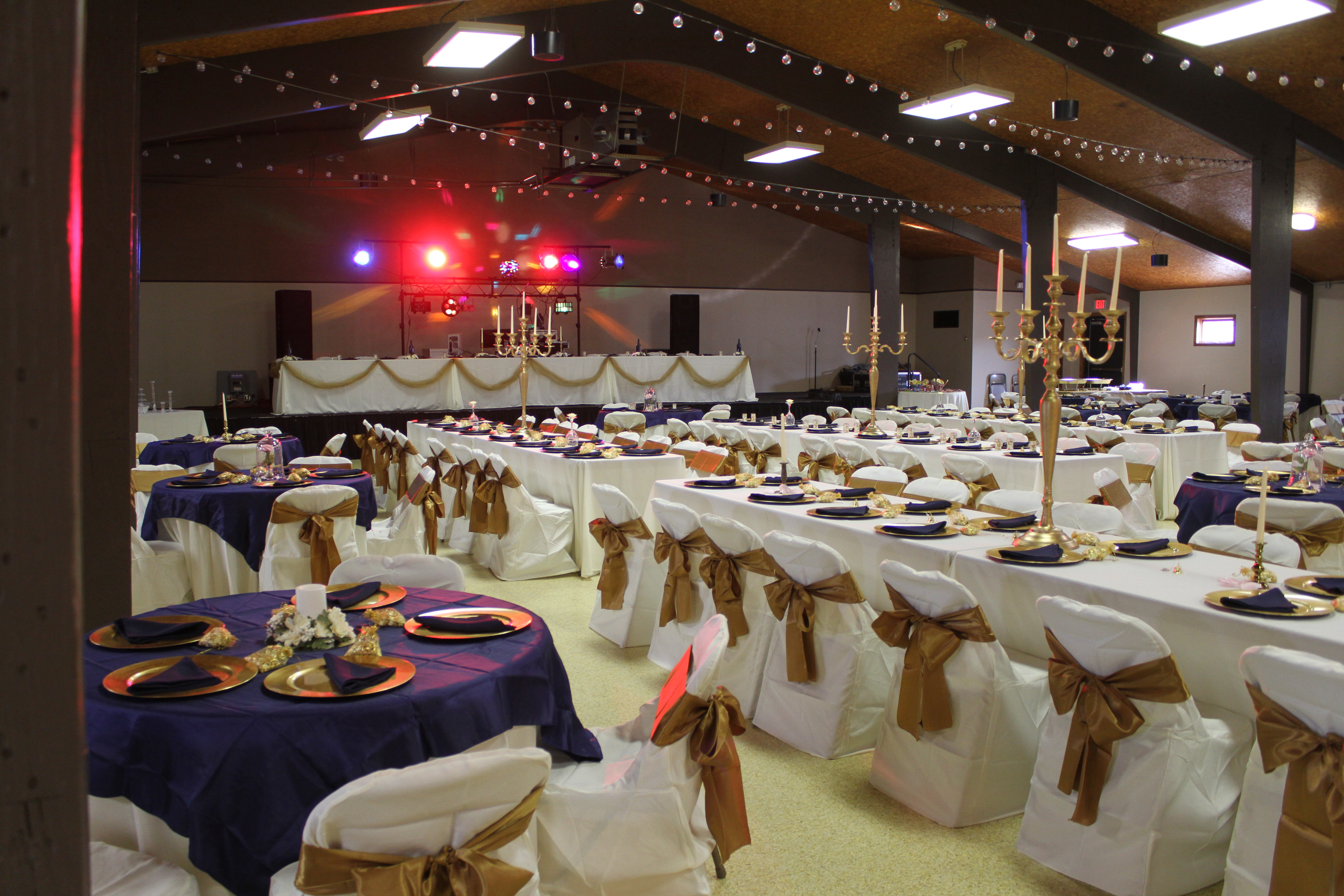 Event Decorations In The Main Event Hall White South Dakota